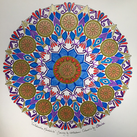 Mandala ART by Liz Beekman