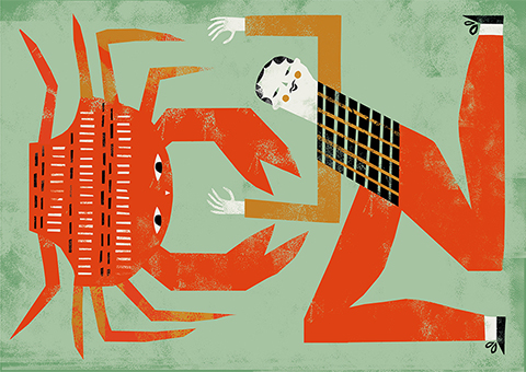 NANNA Prieler - man vs crab