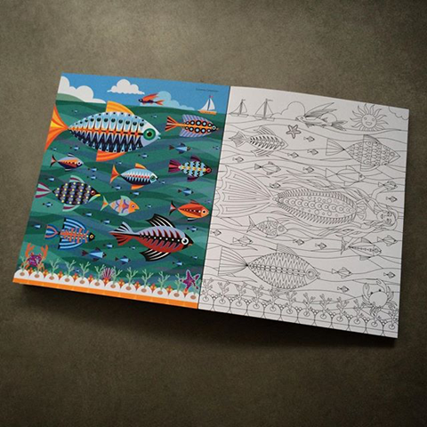 Suzanne Carpenter Adult Colouring Book