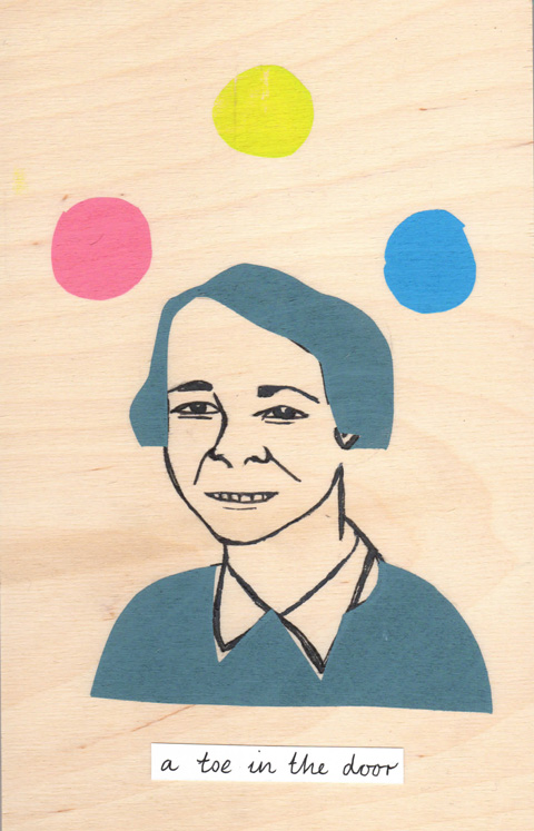 Eliza Fricker print