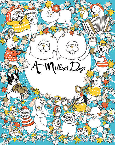 A-Million-Dogs-Cover by Lulu Mayo