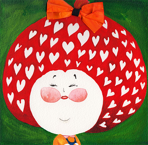 qubee-strawberry by lulu mayo