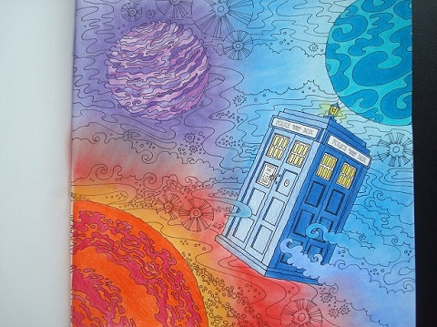 Doctor Who Colouring Book - Lucy Fyles