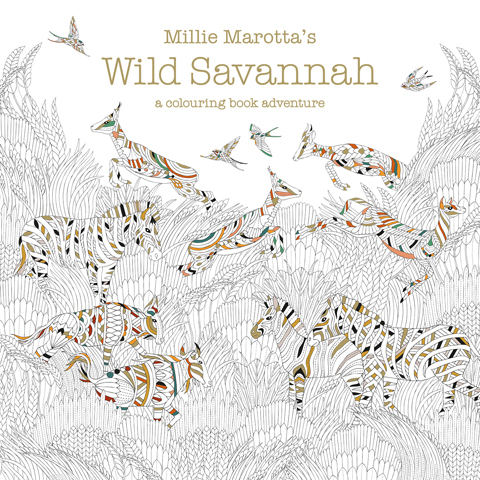 Wild Savannah by Millie Marotta interview