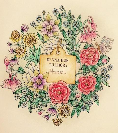 Blomster Mandala Hazel Smithies