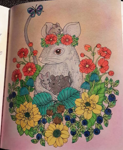 Blomstermandala Anne-Lie Granström 2