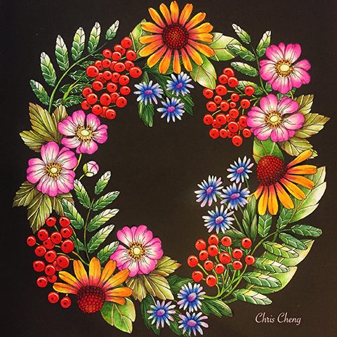 Blomstermandala Chris_Cheng7
