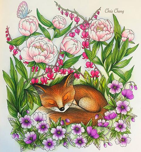 Blomstermandala Chris_cheng5