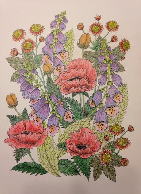 Blomstermandala Jennifer Lyons 2