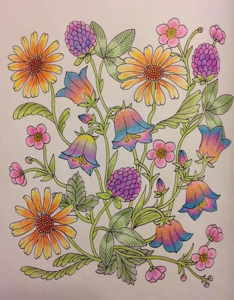 Blomstermandala Jennifer Lyons