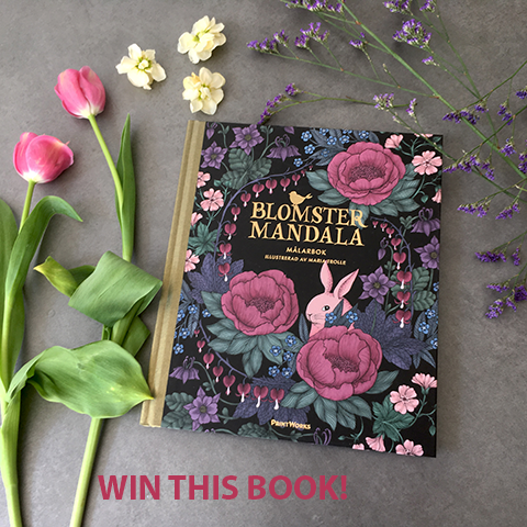 Blomstermandala Maria Trolle giveaway review