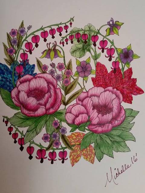 Blomstermandala Michelle White Banaszak 2