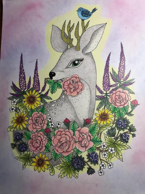 Blomstermandala Terry Cochran